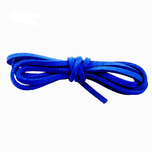 1 Yard (3 feet) Royal Blue 2.5 x1.5mm  Flat Faux Suede Jewelry Cord
