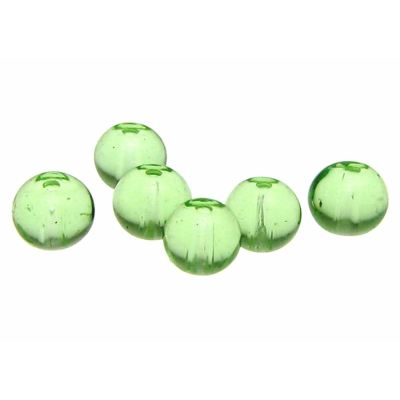 4Mm Peridot Green Round Crystal Beads