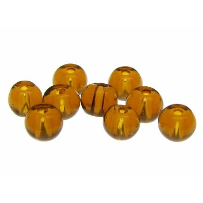4Mm Smoked Topaz Round Crystal Beads