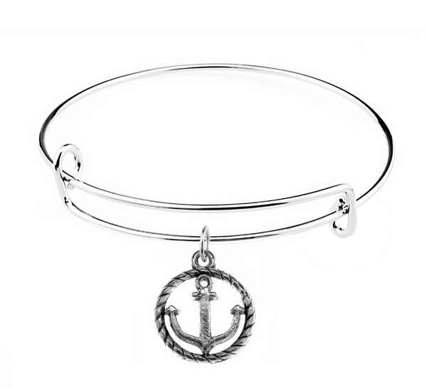 Anchor Charm on Bracelet at Baubles Of Fun