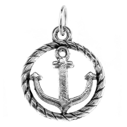 Anchor Charm with Jump Ring at Baubles Of Fun
