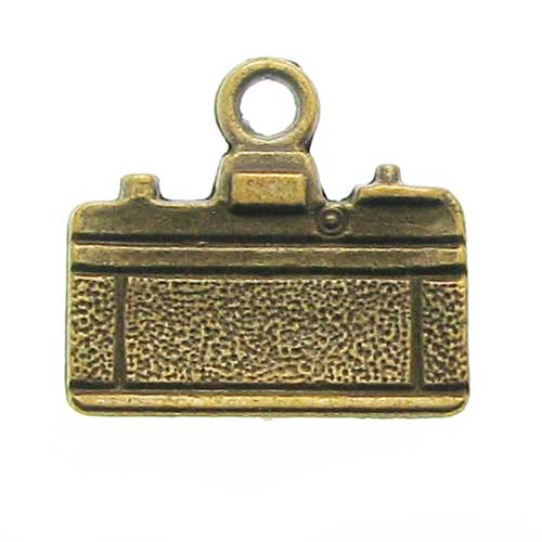 Bronze Camera Charms at BaublesOfFun.com