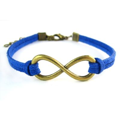 Connectors: 10 Antique Bronze Infinity | Bracelet Links J3J