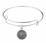 Eye of Horus Charm on Bracelet at Baubles Of Fun