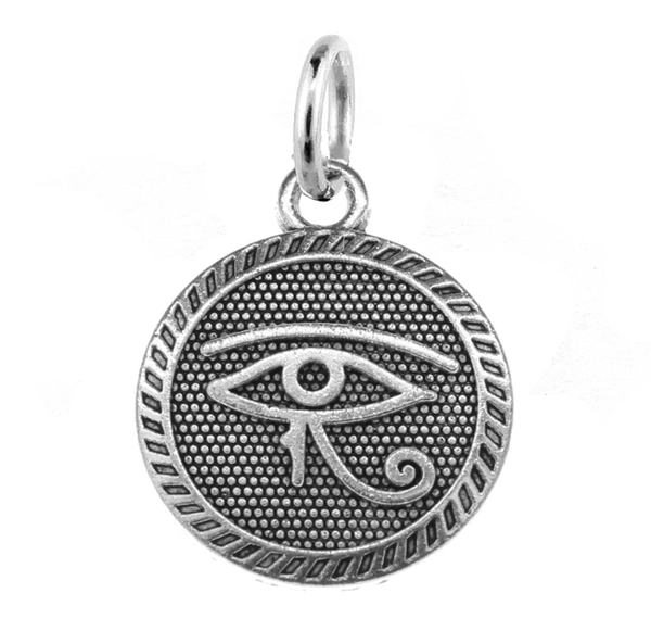 Eye of Horus Charm with Jump Ring at Baubles Of Fun