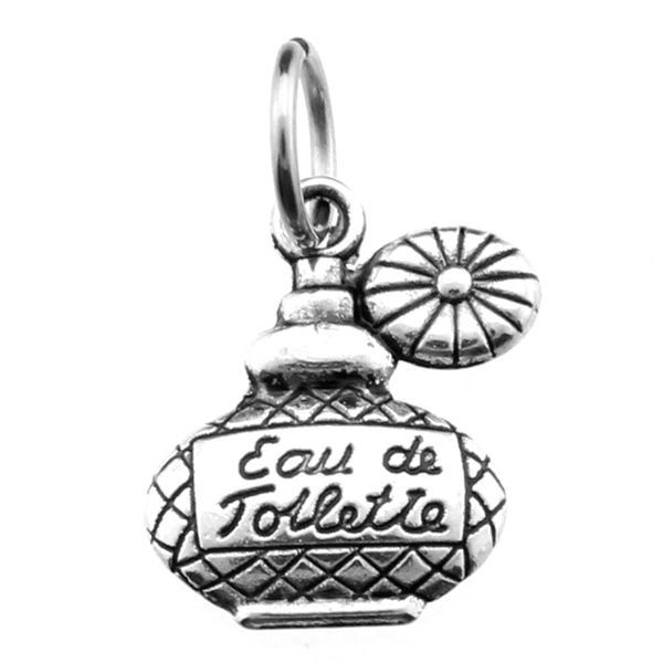 Antique Silver French Perfume Bottle Charm at Baubles Of Fun