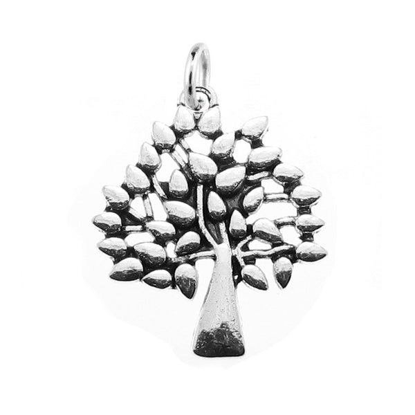 Add-A-Charm Silver Tree of Life Charm with Jump Ring [1 piece] -- Lead & Cadmium Free 13000.B13