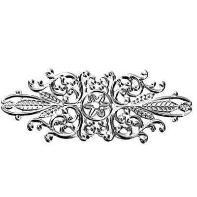 Silver Filigree Stampings / Connectors / Filigree Links [10pcs]