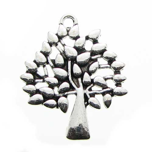 Antique Silver Tree of Life Charms at BaublesOfFun.com