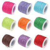 Waxed 1Mm Cotton Jewelry Cord -- Variety Of Colors - Wax