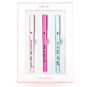 ban.do sweet talk pen set in assorted pastels