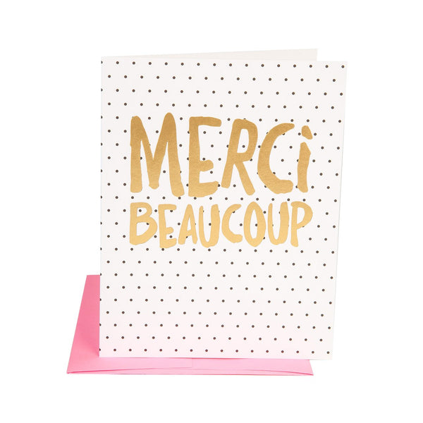 Merci Beaucoup Note Cards