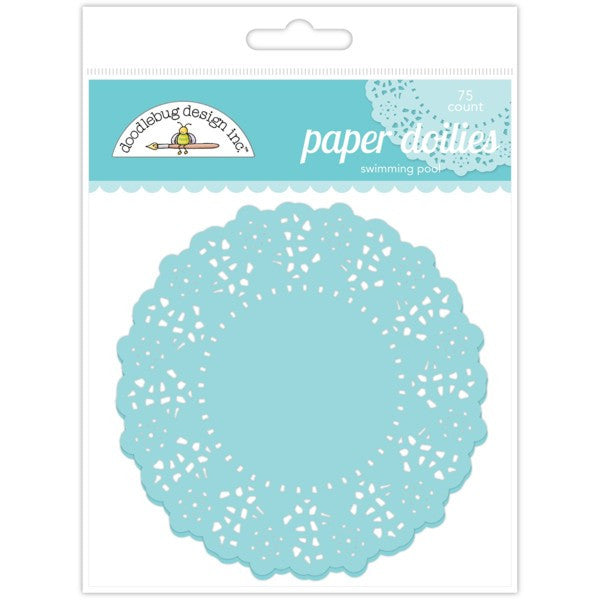 Swimming Pool Paper Doilies