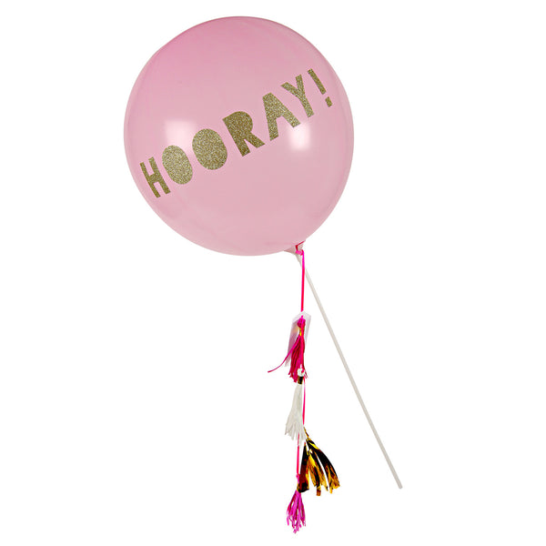Toot Sweet Pink Balloon Wand