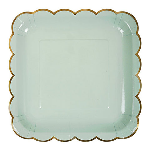Toot Sweet Assorted Large Pastel Plates