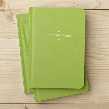 Use Your Words Motto Journal