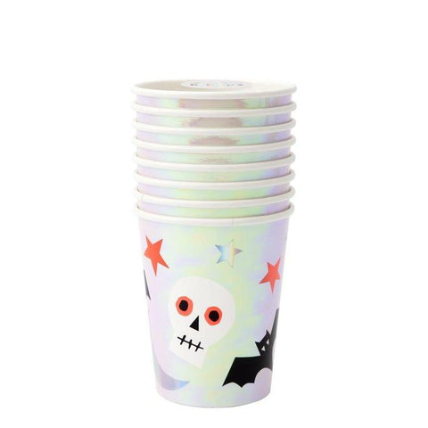 halloween icons party cups