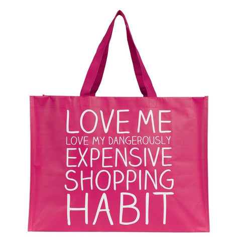 Expensive Shopping Habit Tote Bag