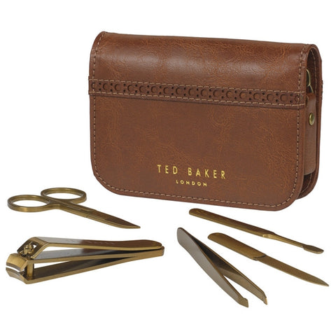 Brogue Manicure Set