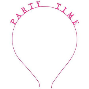 Hot Pink Headband ~ Party Time