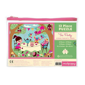Tea Party Pouch Puzzle