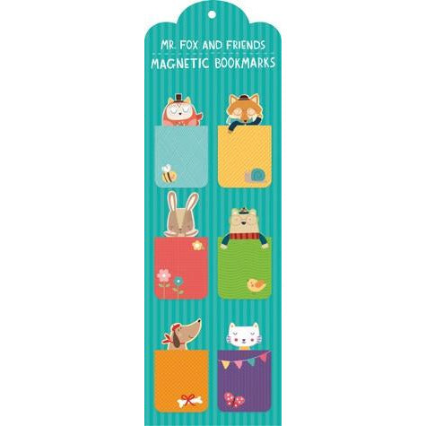 Mr. Fox and Friends Magnetic Bookmarks