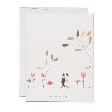 Perfect Wedding Greeting Card