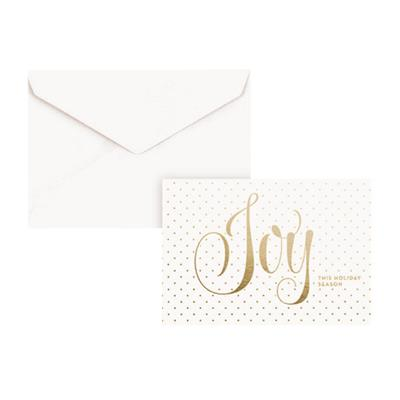 Joy Dots Boxed Christmas Cards