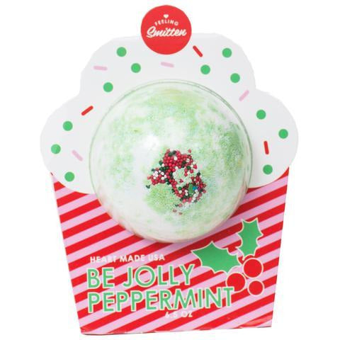 Jolly Peppermint Bath Bomb