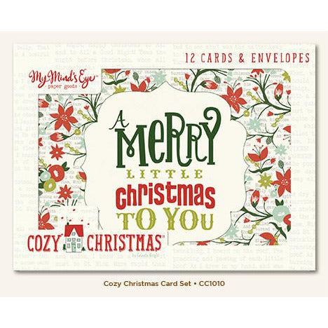Cozy Christmas Card Set