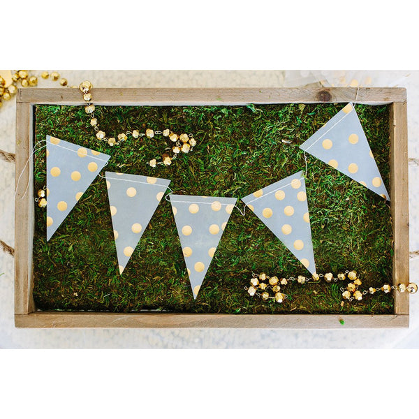 Fancy Vellum Mini Pennant Banner