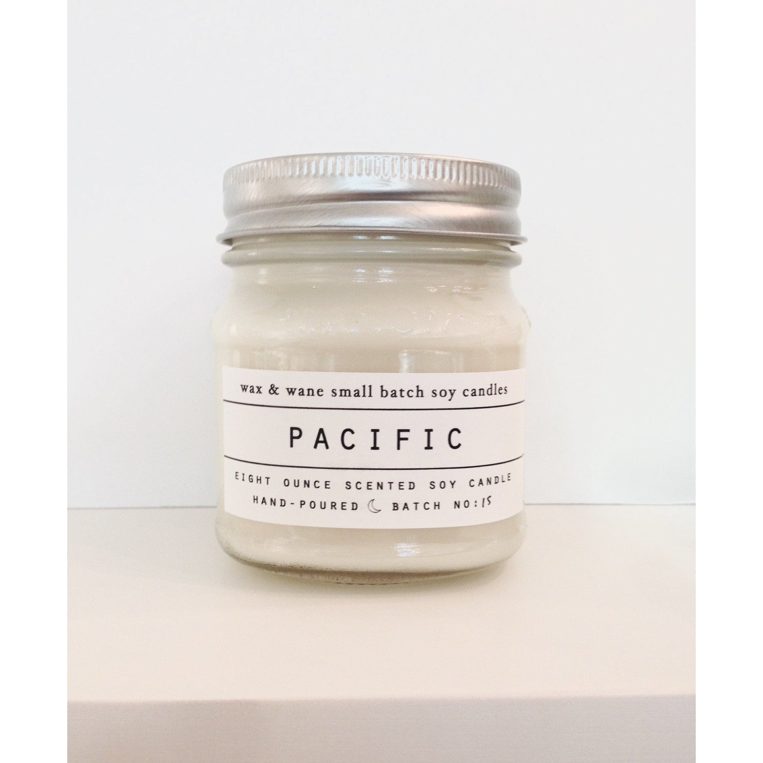 Pacific Soy Candle ~ 8 oz.