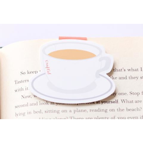 Tea Cup Jumbo Magnetic Bookmark