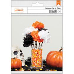 Halloween Pom Pom Flowers Kit