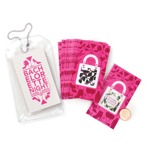 Bachelorette Party Scratch-Off Dare Cards