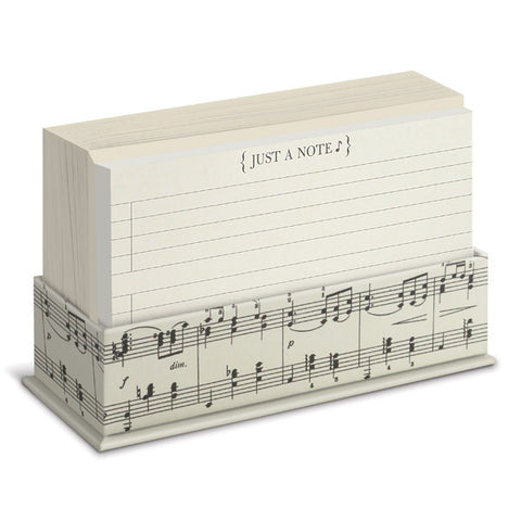 Just A Note Vintage Music Flat Notes