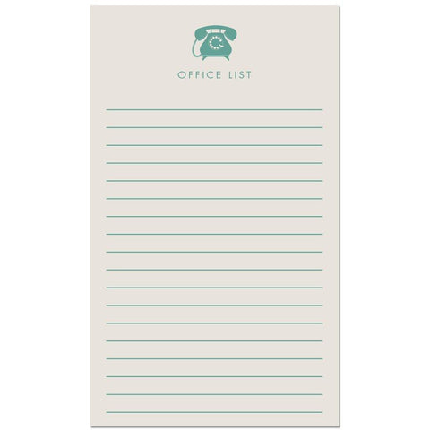 Office List Notepad