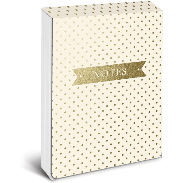 Cream and Gold Pocket Notes