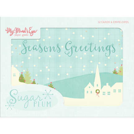 Sugar Plum Card Set