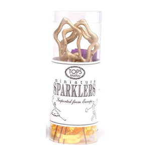 Mini Gold Star Sparklers