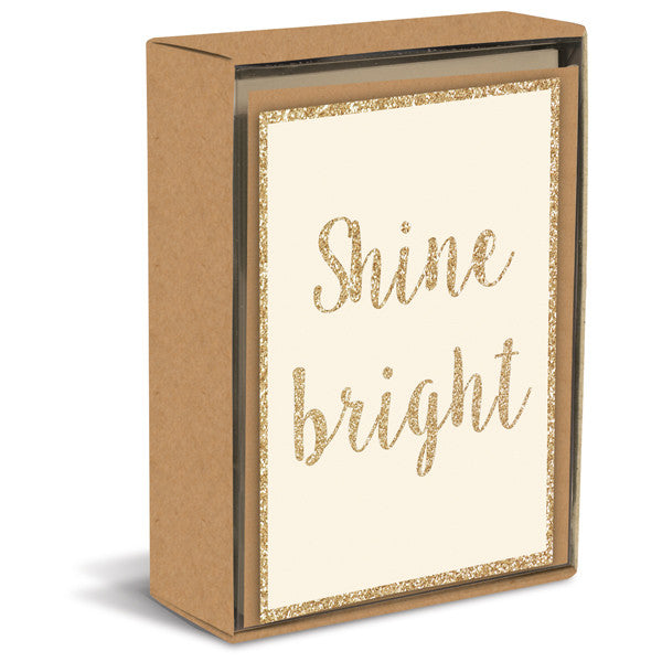 Shine Bright Folded Notes