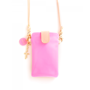 pink and blush crossbody pouch