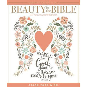 Beauty in the Bible Adult Coloring Book Premium Edition
