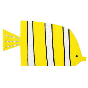 Yellow Fish Napkins