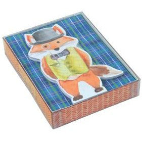Mr. Fox Note Cards