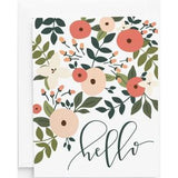 Rosy Grove Hello Note Card Set