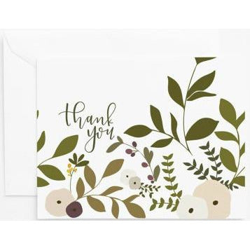 Wild Garden Thank You Card Set