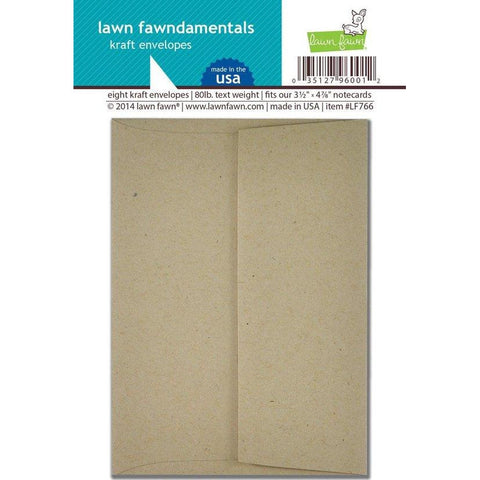 lawn fawn kraft envelopes