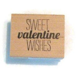sweet valentine wishes stamp