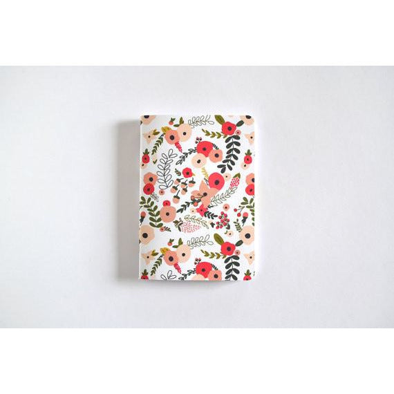 Blooming Wreath Pocket Journal